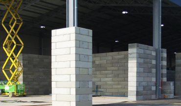 Milieuvriendelijke betonblokken